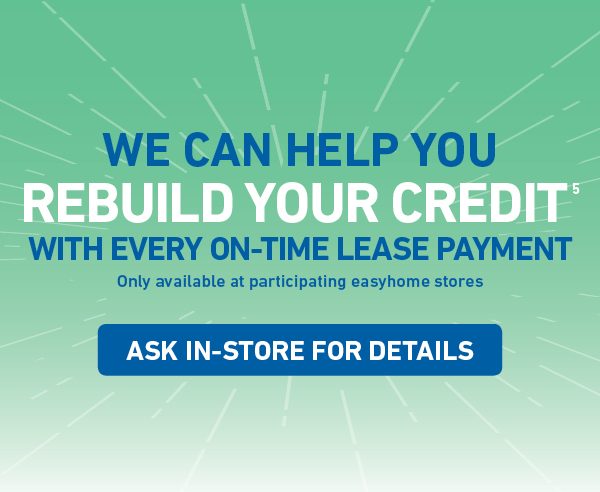 Lease to Own Furniture, Appliances, Electronics and