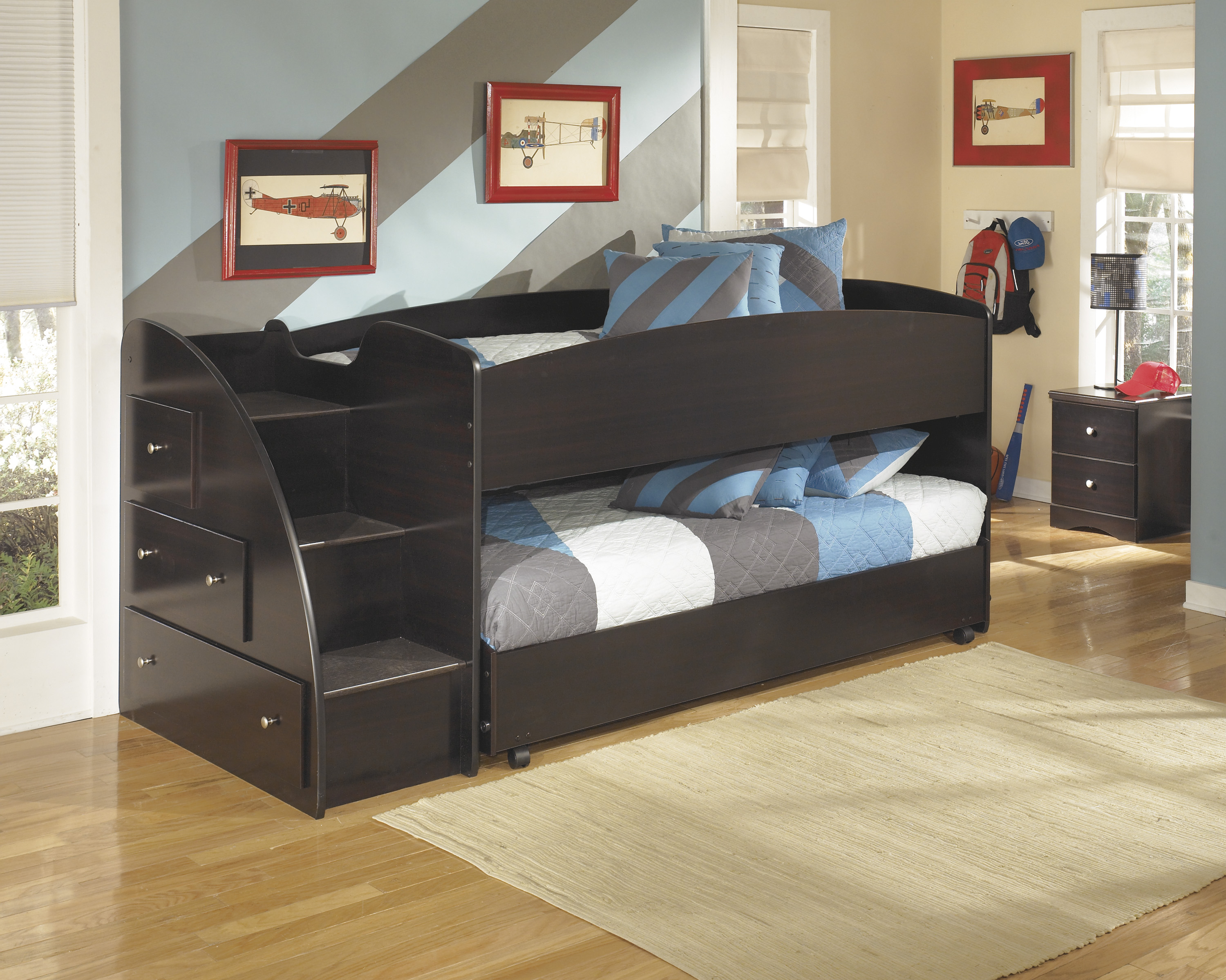 Product Photo EMBRACE LOFT TRUNDLE BED