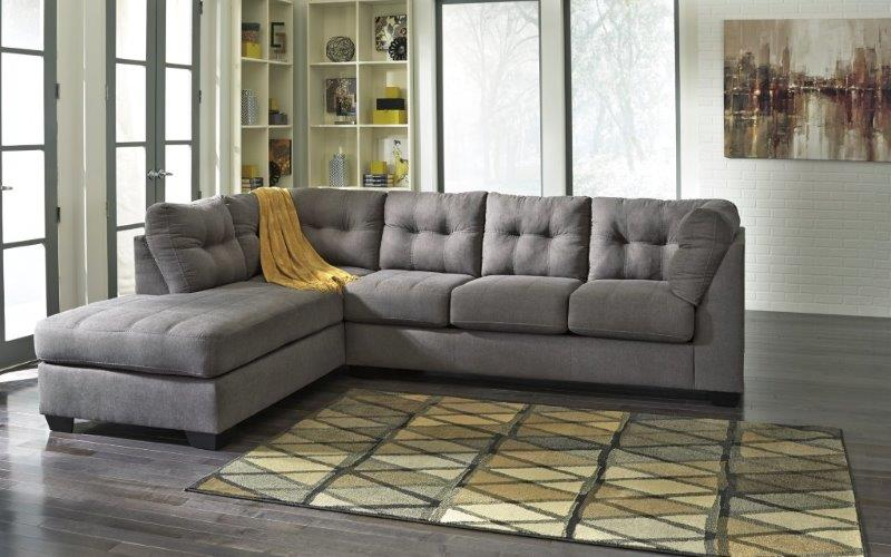 MAIER CHARCOAL SECTIONAL : zella sectional canada - Sectionals, Sofas & Couches