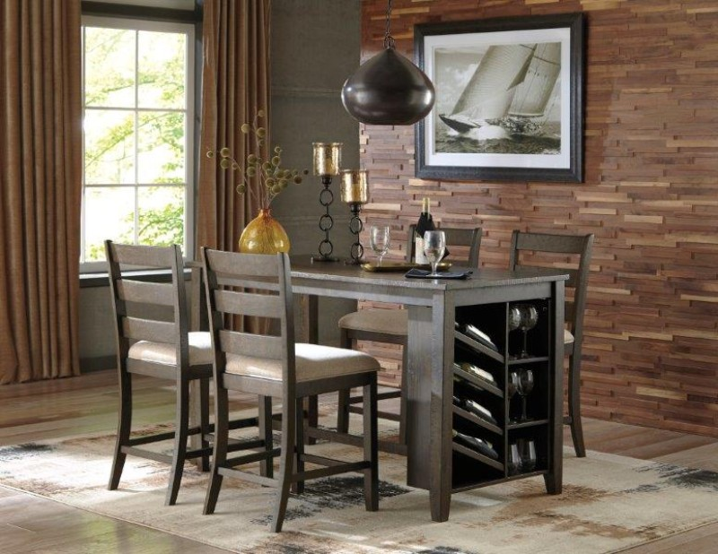 Product photo  ROKANE 5PC STORAGE DINETTE  Loading zoom. Lease to Own Furniture  Appliances  Electronics and Computers from