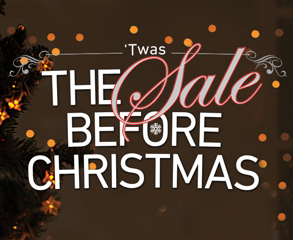 The sale before Christmas